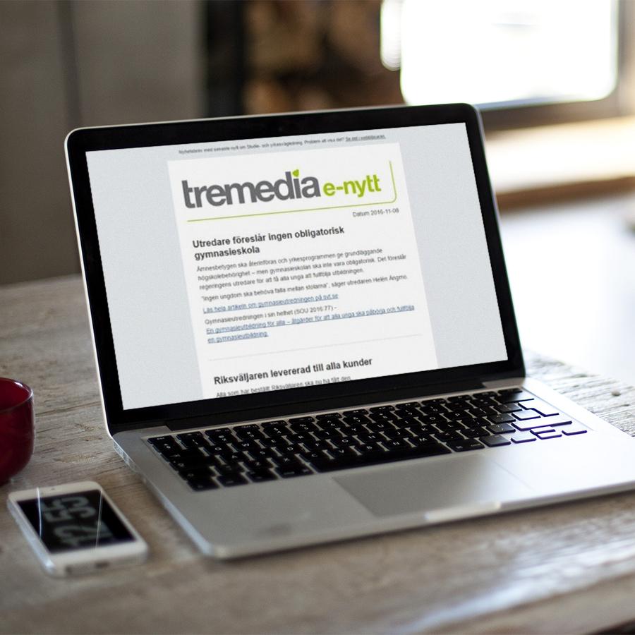 Tremedias E-nytt