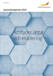 Svenskt Näringslivs årliga gymnasierapport 2018