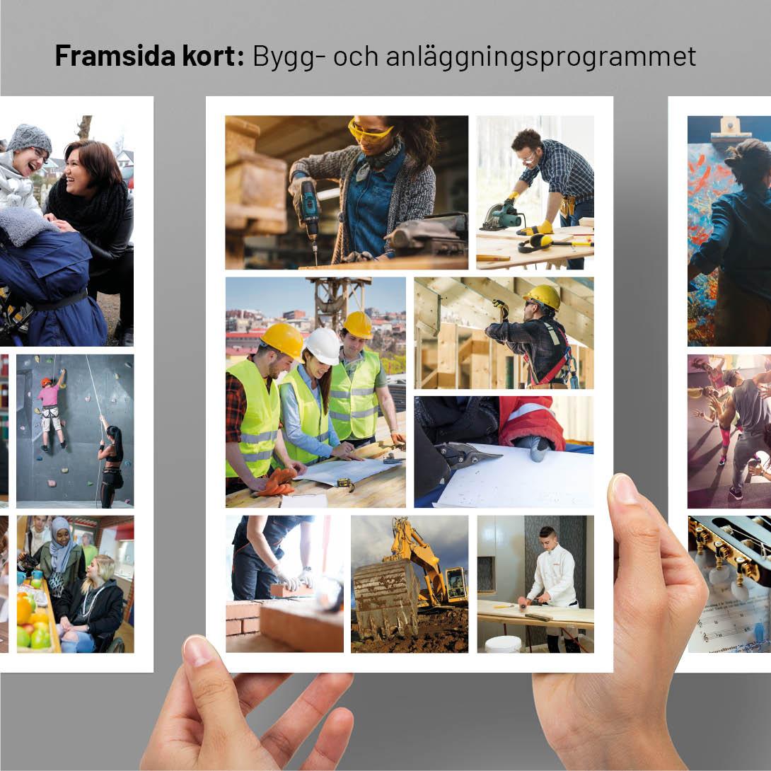 Framsida kort Bygg- och anläggningsprogrammet